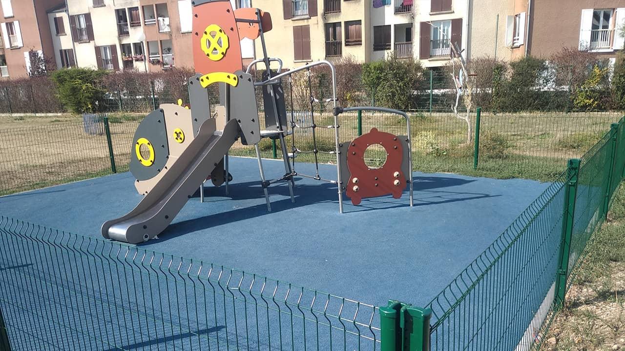 Création d'une aire de jeux pour enfants - Les Mureaux (78)